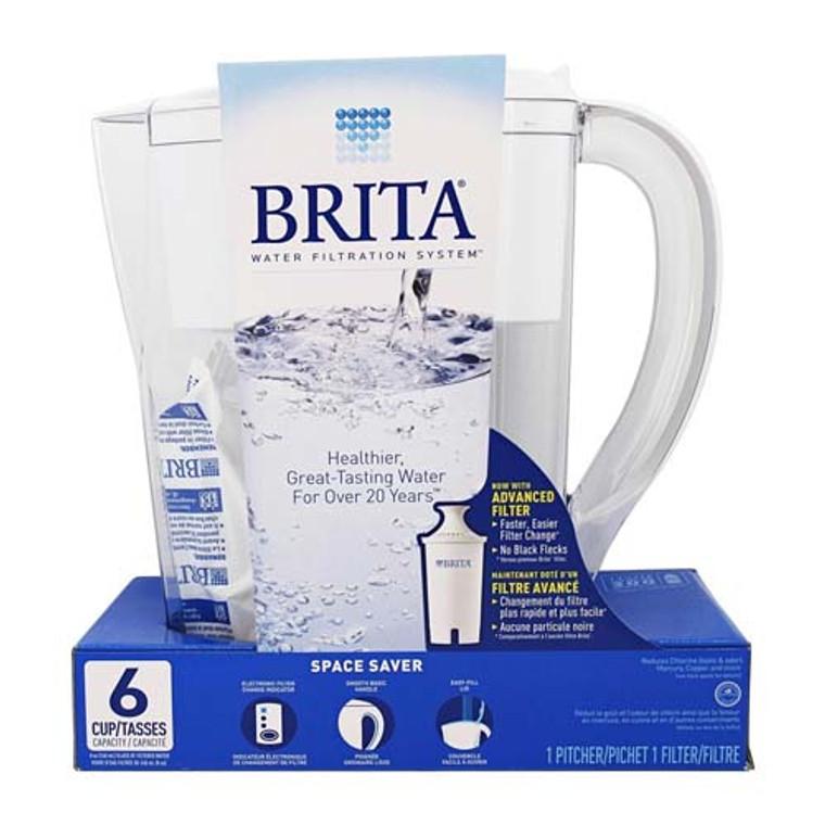 Brita Smart Space Saver Pitcher Water Filter -1 Ea