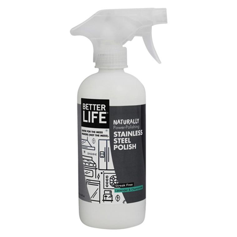 Better Life Einshine Stainless Steel Cleaner And Polish Einshine - 16 Oz
