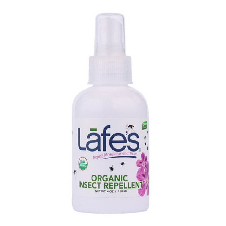Lafes Natural And Organic Baby Insect Repellent - 4 Oz