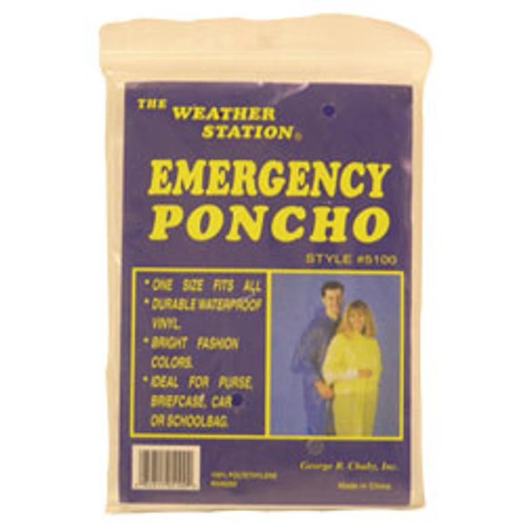 Poncho Emergency, Weather Station - 1 Ea
