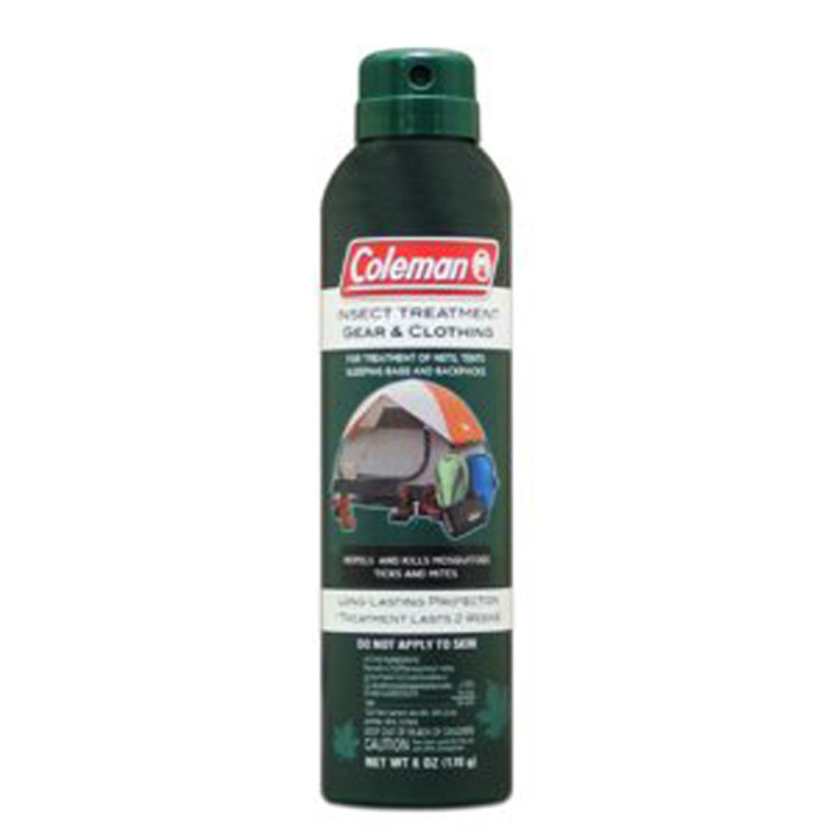 Coleman Aerosol Gear And Clothing Insect Repellent - 6 Oz