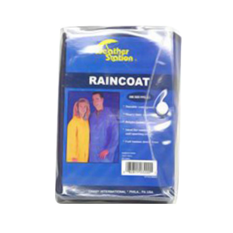 Weather Station Raincoat For Adult - 1 Ea