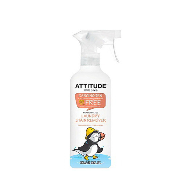 Attitude Little Ones All-Natural Laundry Stain Remover - 16 Oz