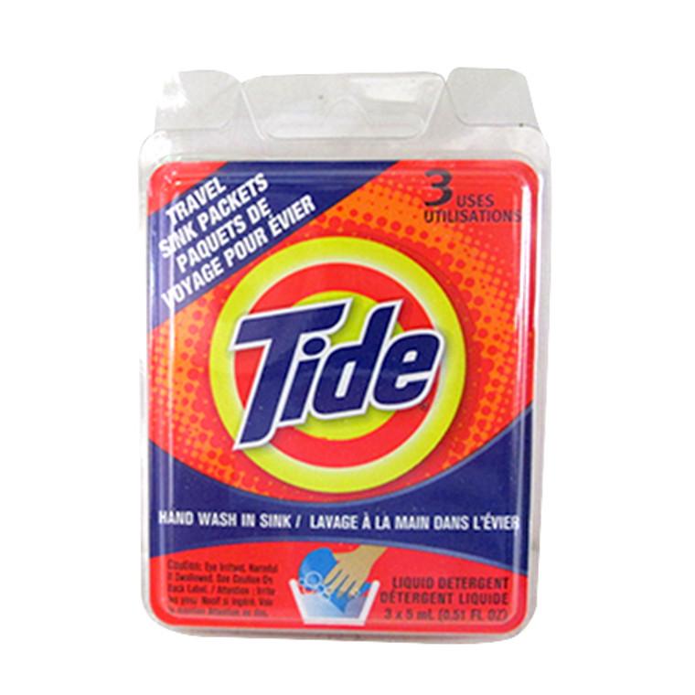 Tide Travel Sink Packets - 3 Each