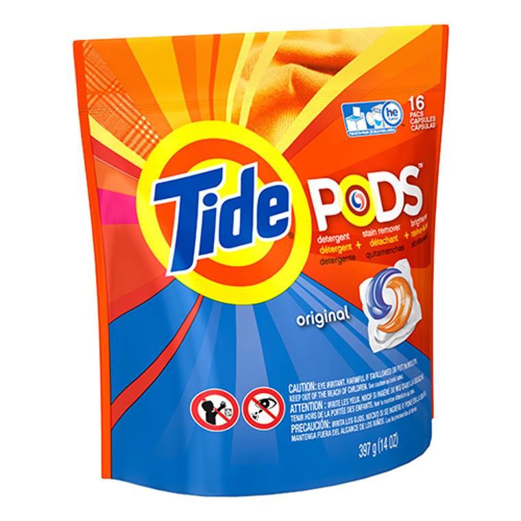 Tide Pods Original Liquid Laundry Detergent 16 count, 6 Pack