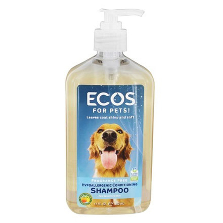 Earth Friendly Products Pet Shampoo Fragrance Free, 17 oz