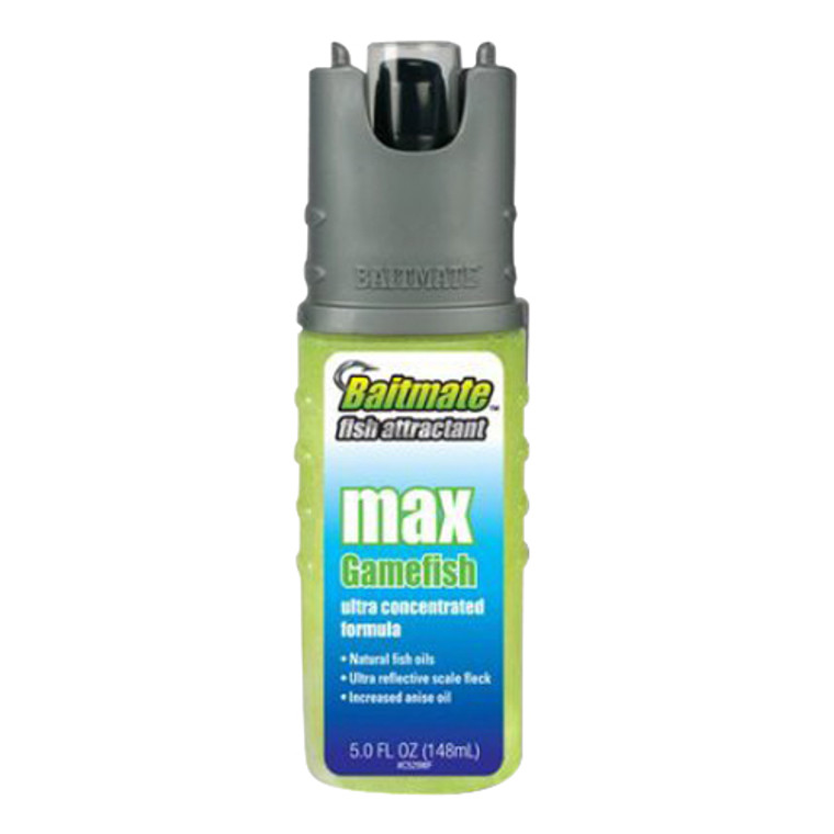 Baitmate Max Ultra Gamefish Fish Attractant, Concentrated Formula - 5 Oz