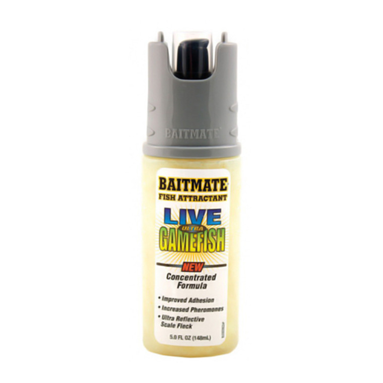 Baitmate Live Ultra Gamefish Fish Attractant, Concentrated Formula - 5 Oz