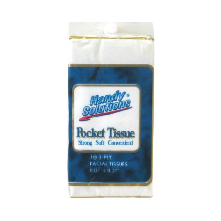 Handy Solutions Facial Pocket Tissues - 3 Pack