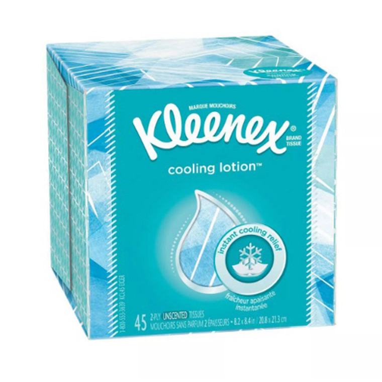 Kleenex Cool Touch 45 Facial Tissue, 27 Pack
