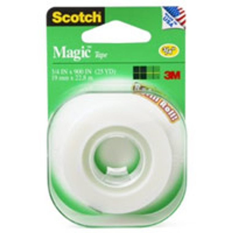 Scotch Magic Tape, 3/4 X 500 Inches - 1 Ea
