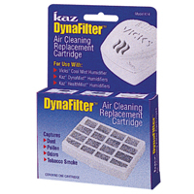 Protec Dynafilter Air Cleaning Humidifier Cartridge For Kaz And Vicks, 3 Pack - 1 Ea