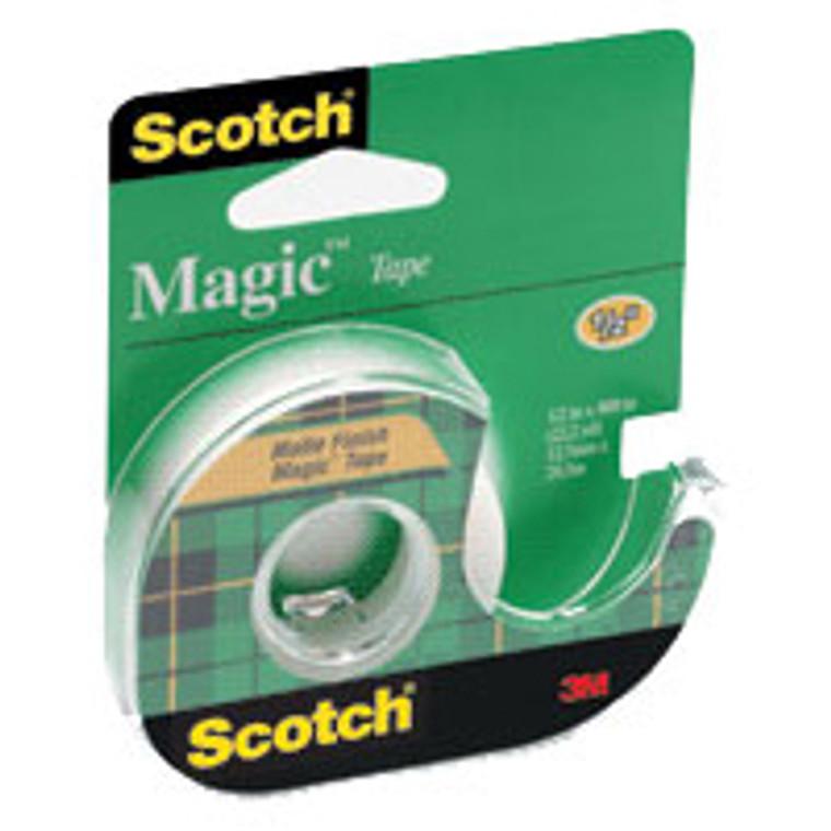 Scotch Magic Tape, Display Case, 1/2 In X 450 In (12Mm X 11.4 M) - 1 Roll
