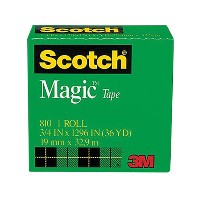 3M Scotch Magic Transparent Tape Of 0.75 Inch X 36 Yards - 1 Ea
