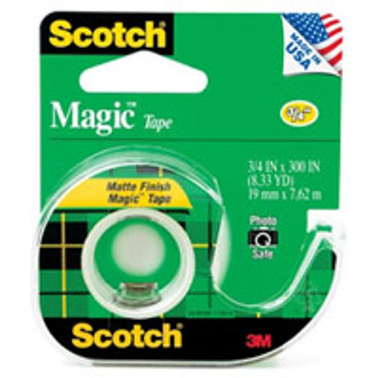 3M Scotch Magic Mattle Finish Tape, Size: 0.75 X 300 Inches, #034, 1 roll