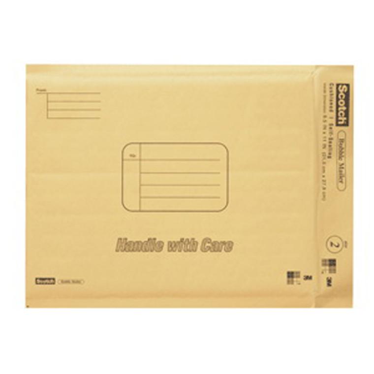 Scotch Bubble Mailer # 7914-25-Cs 8.5 In X 11 Inch Size #2 - 25 Ea