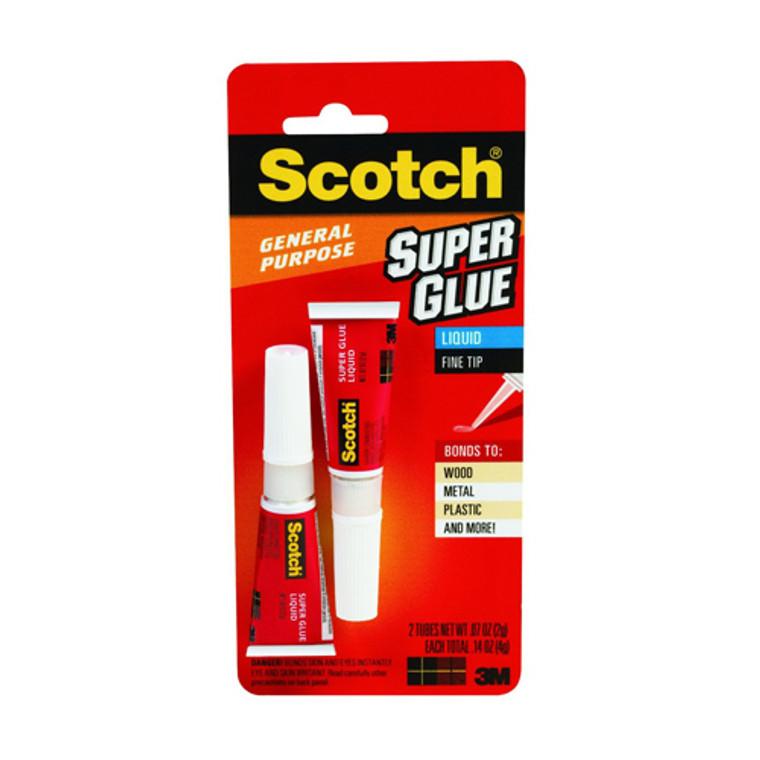 3M Scotch Super Glue Liquid - 0.07 Oz