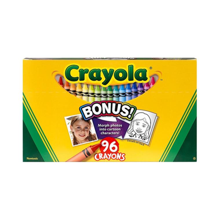 Crayola Nontoxic Crayons - 96 Ea