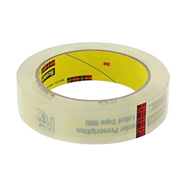 Scotch Prescription Lable Tape 72 Yd, 800 Size, 1 Ea