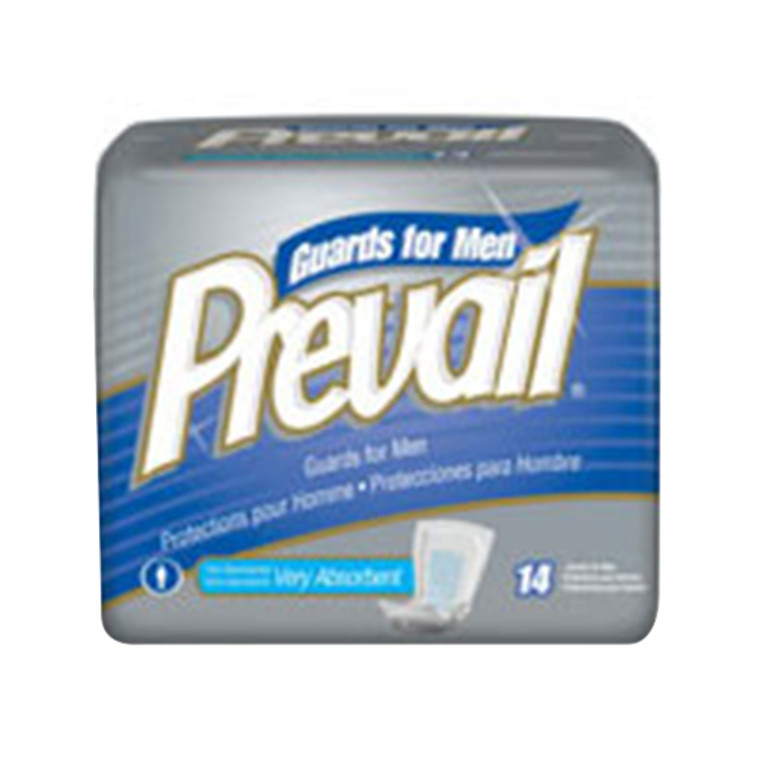 Prevail Comfortable Fit Extra Absorbence Guard For Men - 14/Pack, 9 Ea