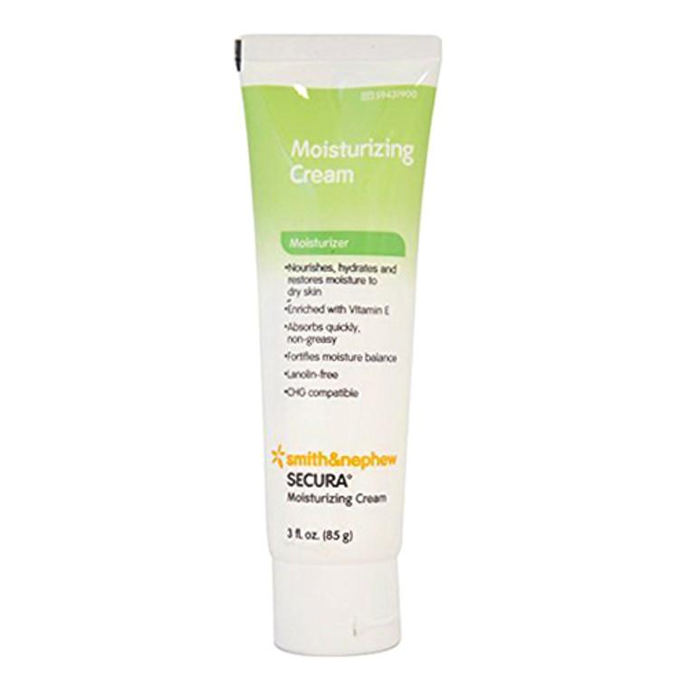 Smith And Nephew Secura Moisturizing Cream - 3 Oz. Tube