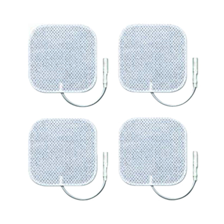 Zewa Replacement Electrodes 2 x 2 Inch pads, 4 Ea