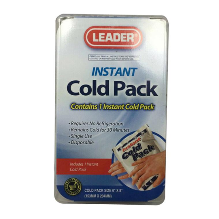 Leader Instant Cold Pack, Single,1 Ea