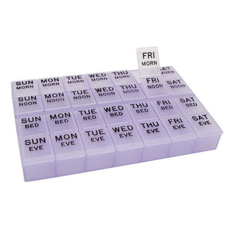 Apex Mediplanner ll Pill Organizer 1 Ea