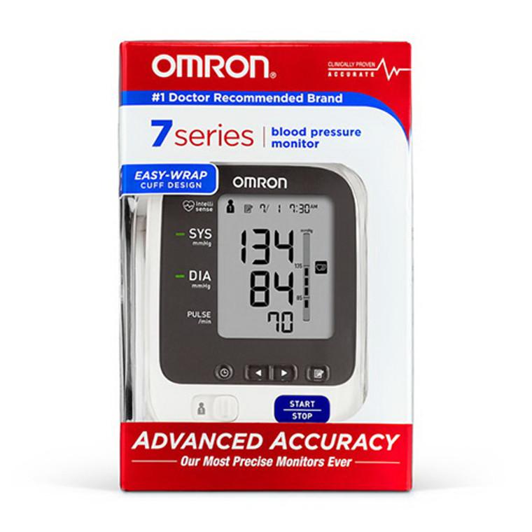 Omron 7 Series Upper Arm Blood Pressure Monitor, Smart BP760N, 1 Ea