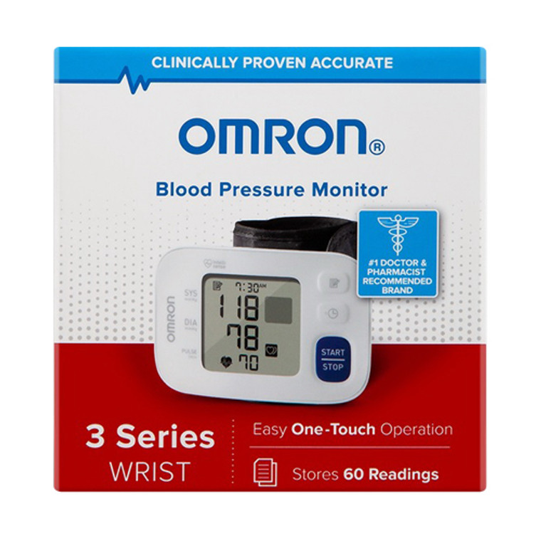 Omron 3 Series Wrist Blood Pressure Monitor Model#  Bp6100