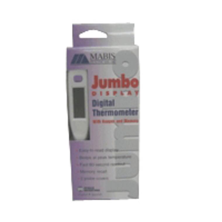 Mabis Jumbo Display Digital Thermometer For Temperature Measurement - 1 Ea