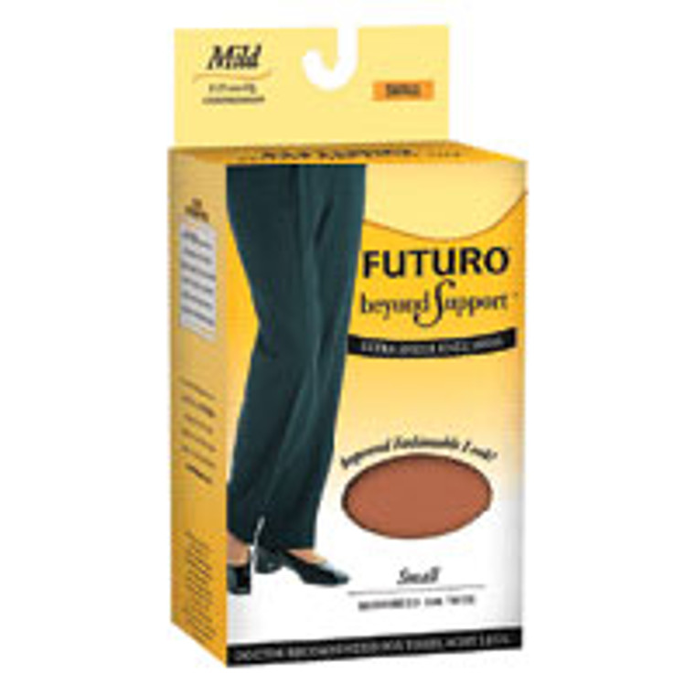 Futuro Beyond Support Ultra Sheer Knee High Highs, Mild Compression, Small - 1 Ea