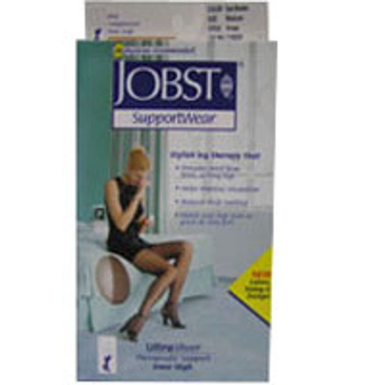 Jobst Ultrasheer Waist High Pantyhose, 8-15 Mmhg, Beige, Size: Small