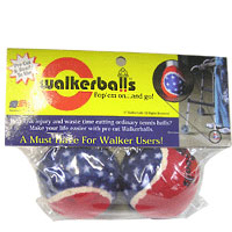 Walker Balls Patriotic, Red White And Blue, Model No : 4000-02, 1 Pair