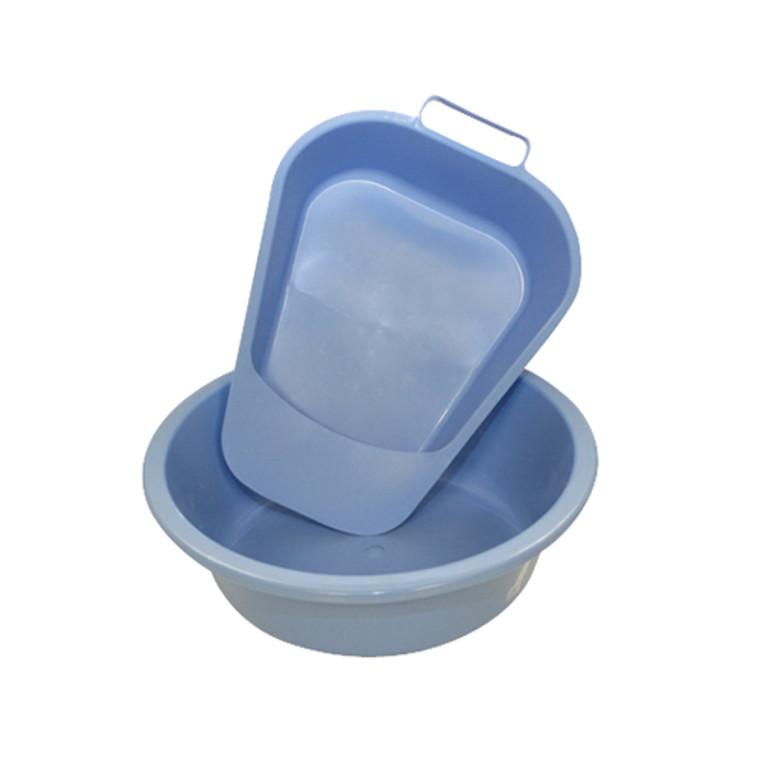 Medline Plastic Emesis Basins 10 Inches, Blue - 12 Ea