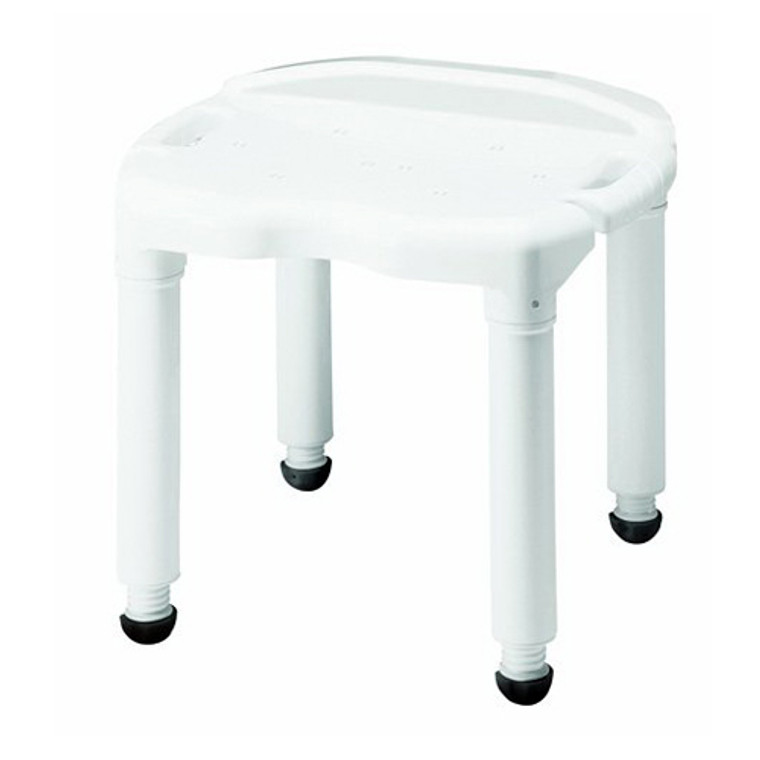 Carex Universal Bath Seat With Exact Level Height Adjustment Without Back, #B670-00 - 1 Ea