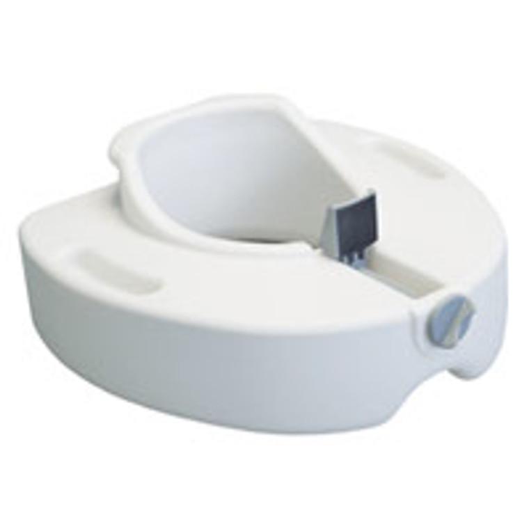 Graham Field Locking Raised Toilet Seat Without Armrest, Model #6486R - 1 Ea