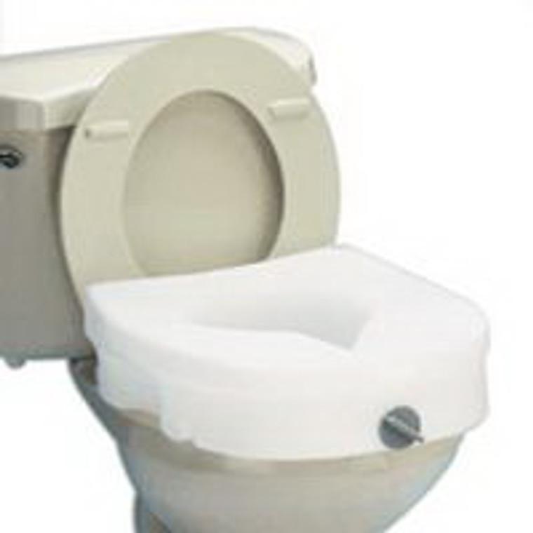 E-Z Lock Raised Toilet Seat, Model: B305-00, By Apex-Carex - 1 Ea