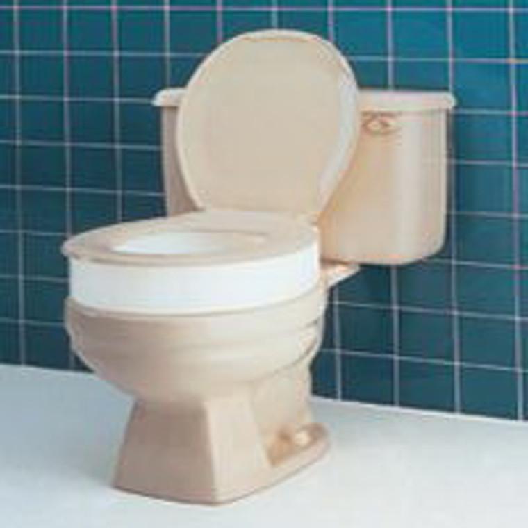 Toilet Seat Elevator, Round / Standard, Model: B307-00, By Apex-Carex - 1 Ea