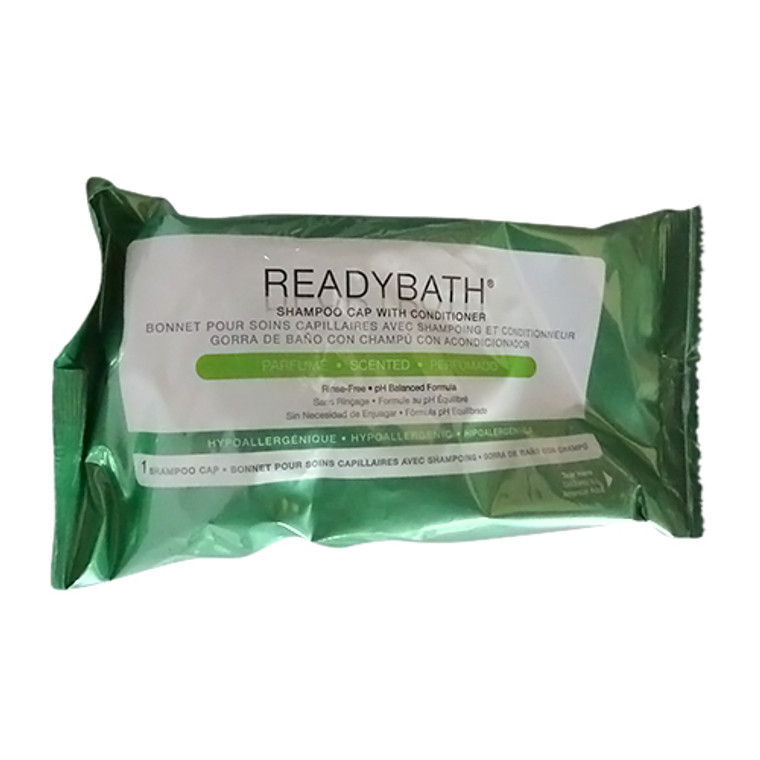 Medline Ready Bath Hair Shampoo Cap With Conditioner, Msc095230 - 1 Ea