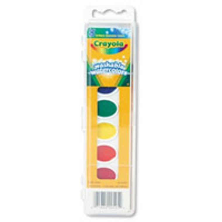 Crayola Washable Watercolor 8 Colors Set - 8 Ea