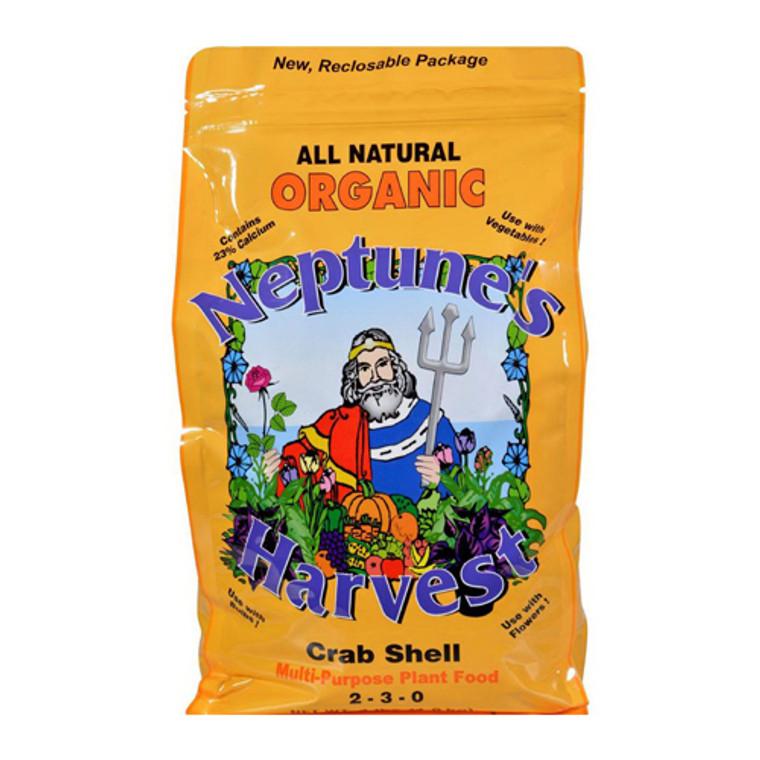 Neptunes Harvest Crab Shell Fertilizer Orange Label, 4 Lb