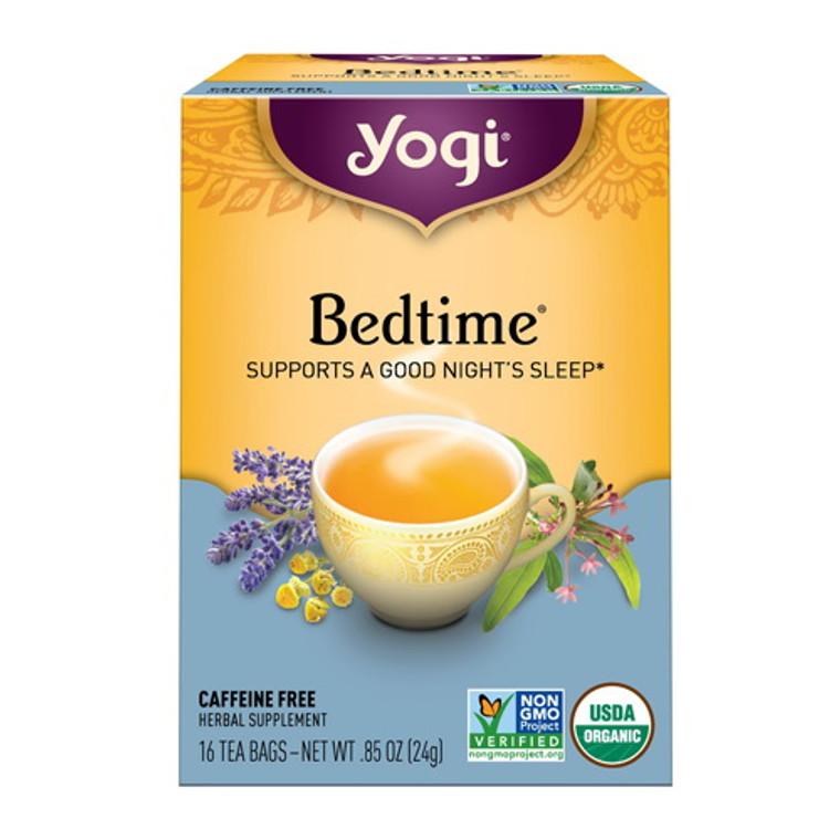 Yogi Bedtime Natural Herbal Supplement Tea Bags - 16 Ea
