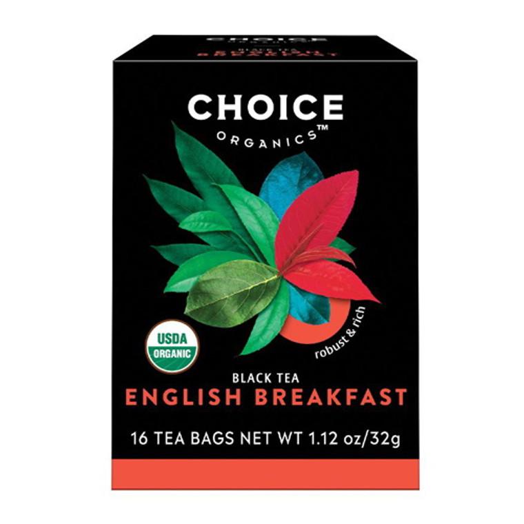 Choice Organics English Breakfast Black Tea - 16 Bags