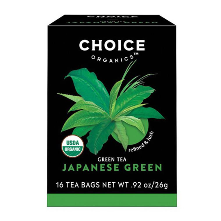 Choice Organics Japanese Green Tea - 16 Bags