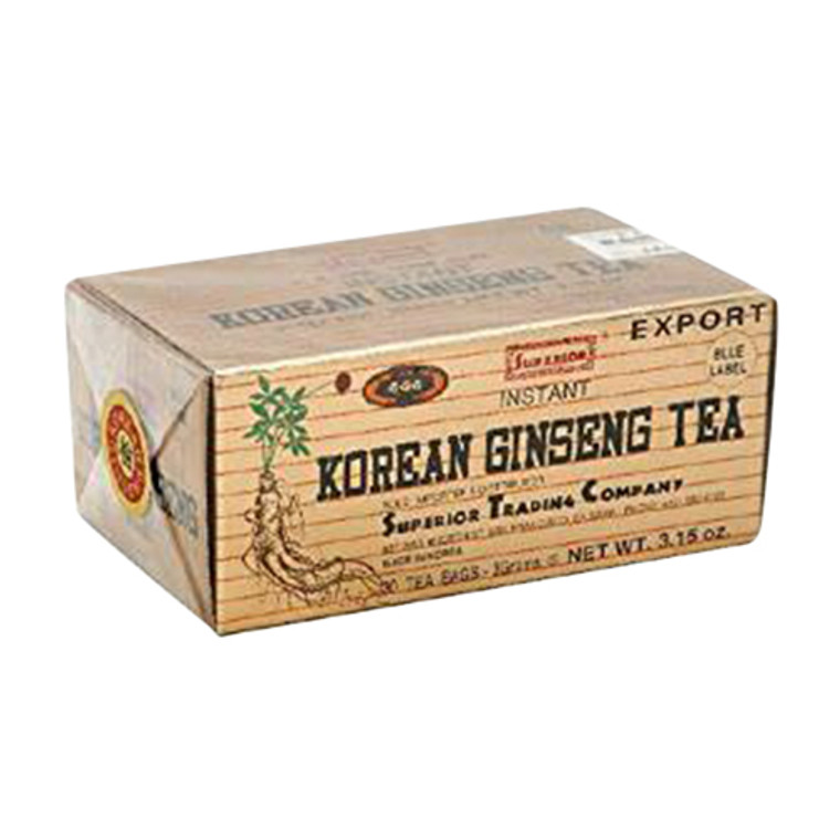 Superior Instant Korean Ginseng Tea, 30 Tea bags