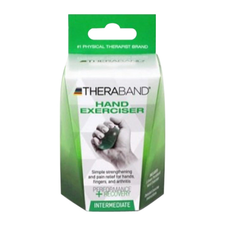 Thera-Band Hand Exerciser for Hand Wellness Intermediate, 1 ea