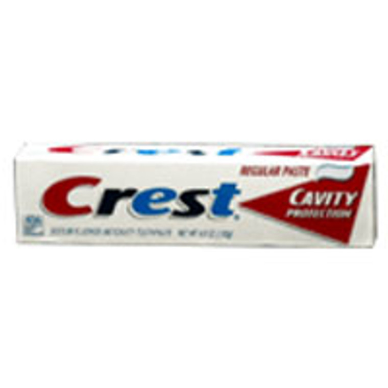 Crest Cavity Protection Toothpaste, Regular - 4.6  Oz