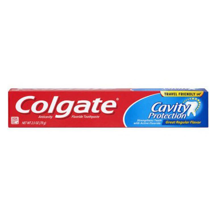 Colgate Toothpaste Regular AntiCavity Protection, 2.5 Oz