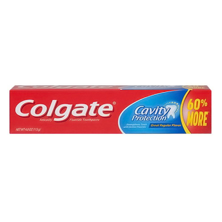 Cavity Protection Fluoride Toothpaste by Colgate, 4 Oz